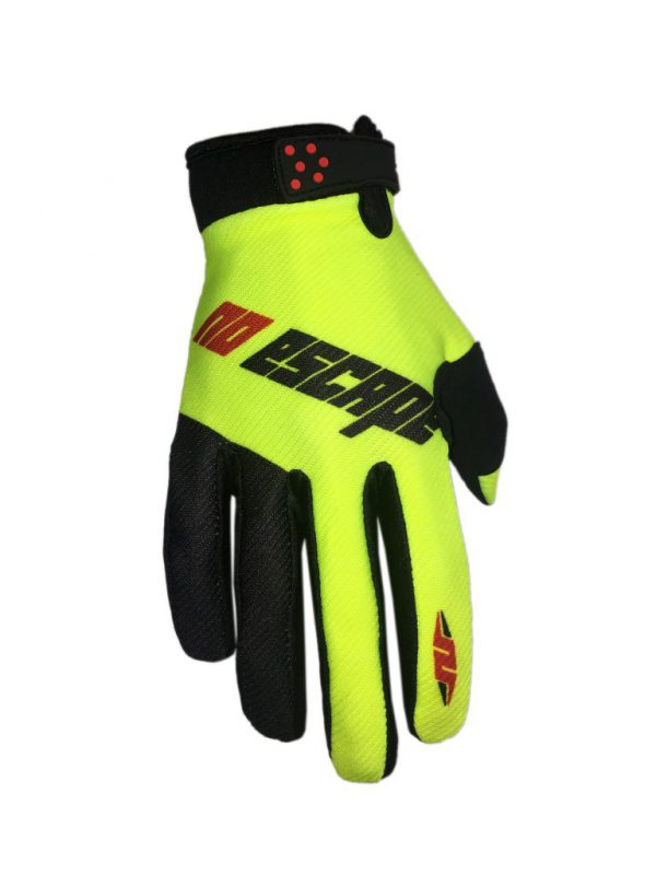 glove-no-escape-racing-yellow-black